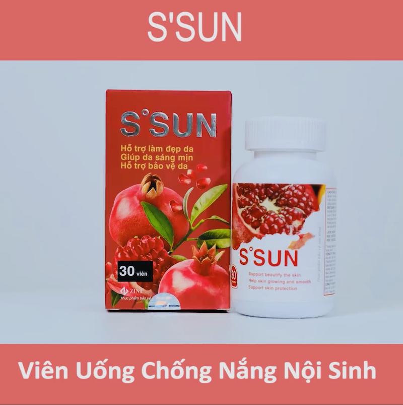 chống nắng cho da mụn nhạy cảm với viên uống chống nắng