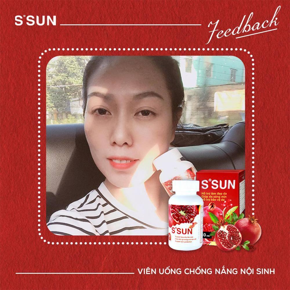 viên uống chống nắng nội sinh S'Sun chất lượng