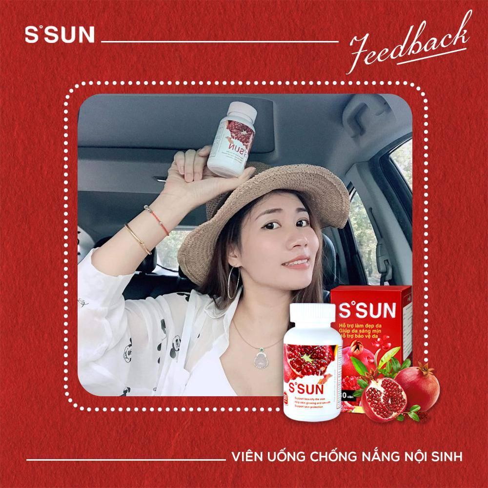 viên uống chống nắng nội sinh S'Sun