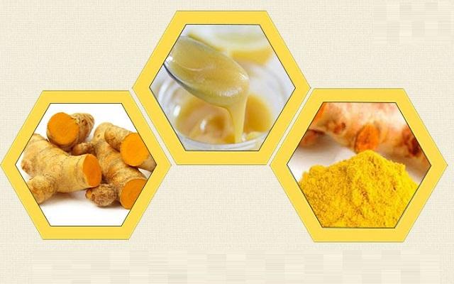 dưỡng trắng da bằng sữa ong chúa và nghệ