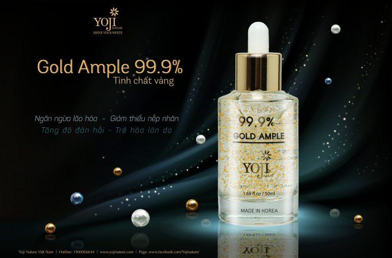 serum dưỡng trắng da mờ thâm yoji nature